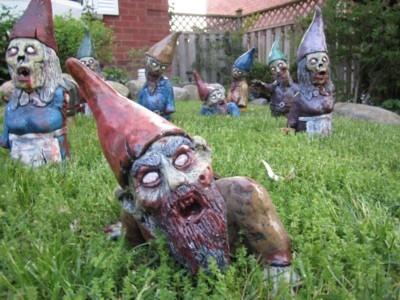 Bei zu viel Gras werden die Zwerge immer so komisch.