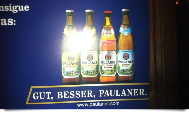 Gut, besser, Paulaner.
