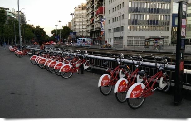 BiCiNg an der Plaza España