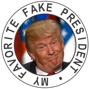 My favorite Fake President
