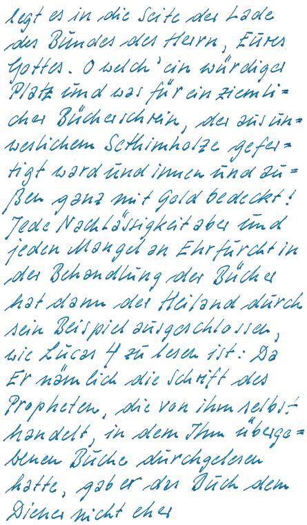 Philobiblon, Kopie Wortmischer